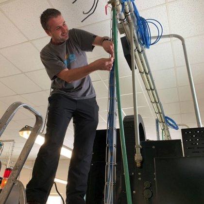 Připojení CNC frézy na síť bezpapírových pracovišť